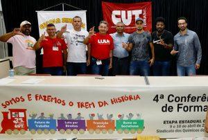 Pinda participa de Conferência de Formação da CUT