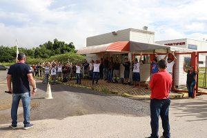 Trabalhadores da Martifer entram em greve em Pindamonhangaba
