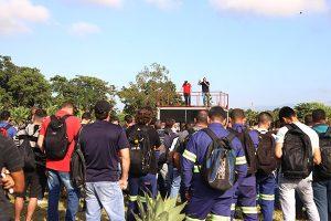 Trabalhadores da Gerdau protestam contra mudanças na PLR
