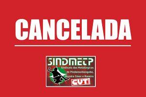 Sindicato cancela assembleia eleitoral