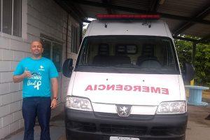Após reivindicação, GV do Brasil compra ambulância