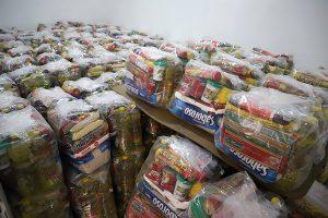 Sindicato faz doação de cestas básicas a metalúrgicos desempregados