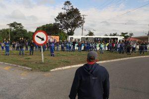 Trabalhadores da GV do Brasil fazem paralisação pela Campanha Salarial