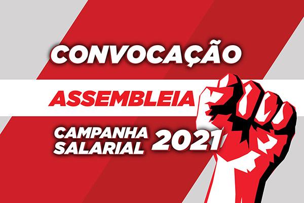 Sindicato convoca assembleia geral da Campanha Salarial