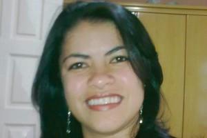 Tania Santos, 30 anos, esposa do dirigente sindical Antonio Ernesto