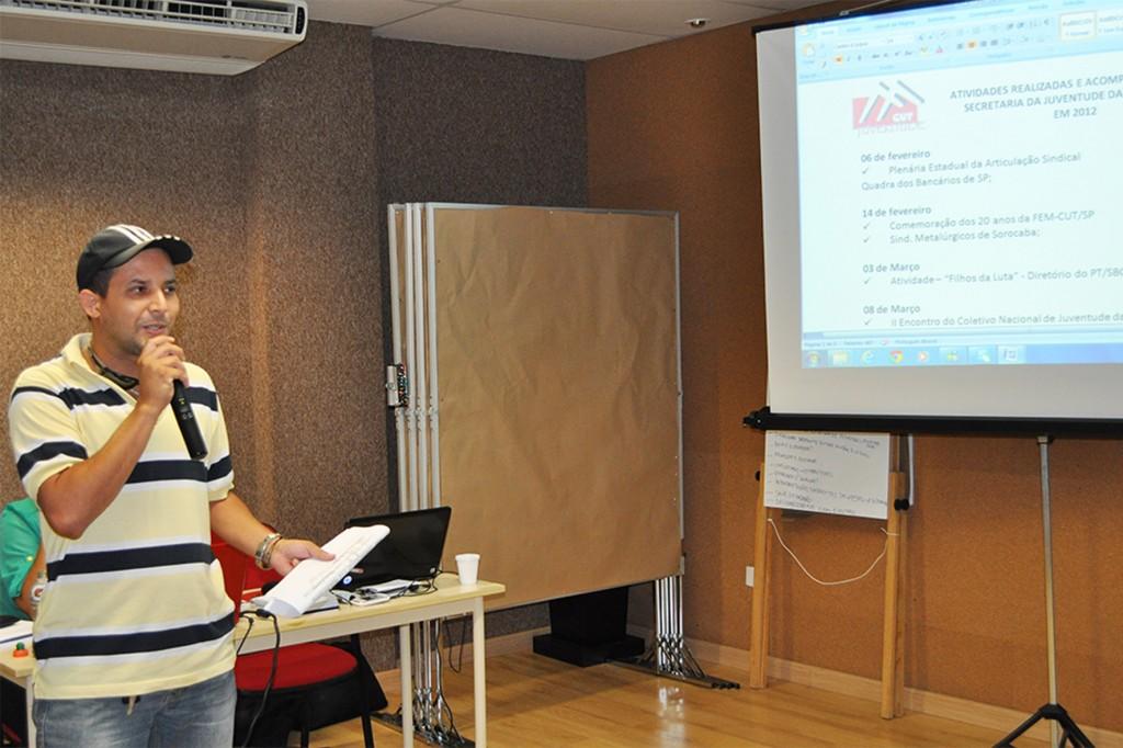 Luciano da Silva, Tremembé, Secretário da Juventude da FEM.Crédito Mídia Consulte