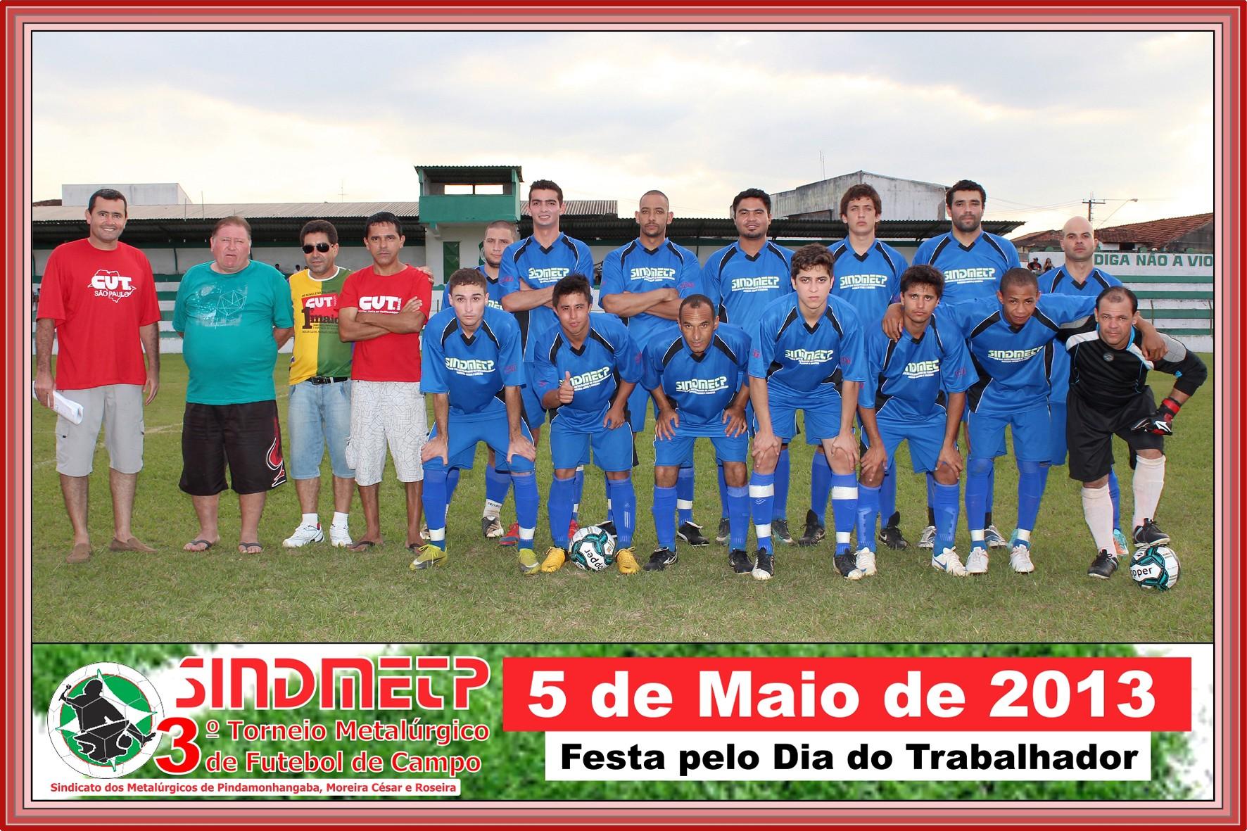 Confab Equipamentos - Equipe que jogou a final do torneio