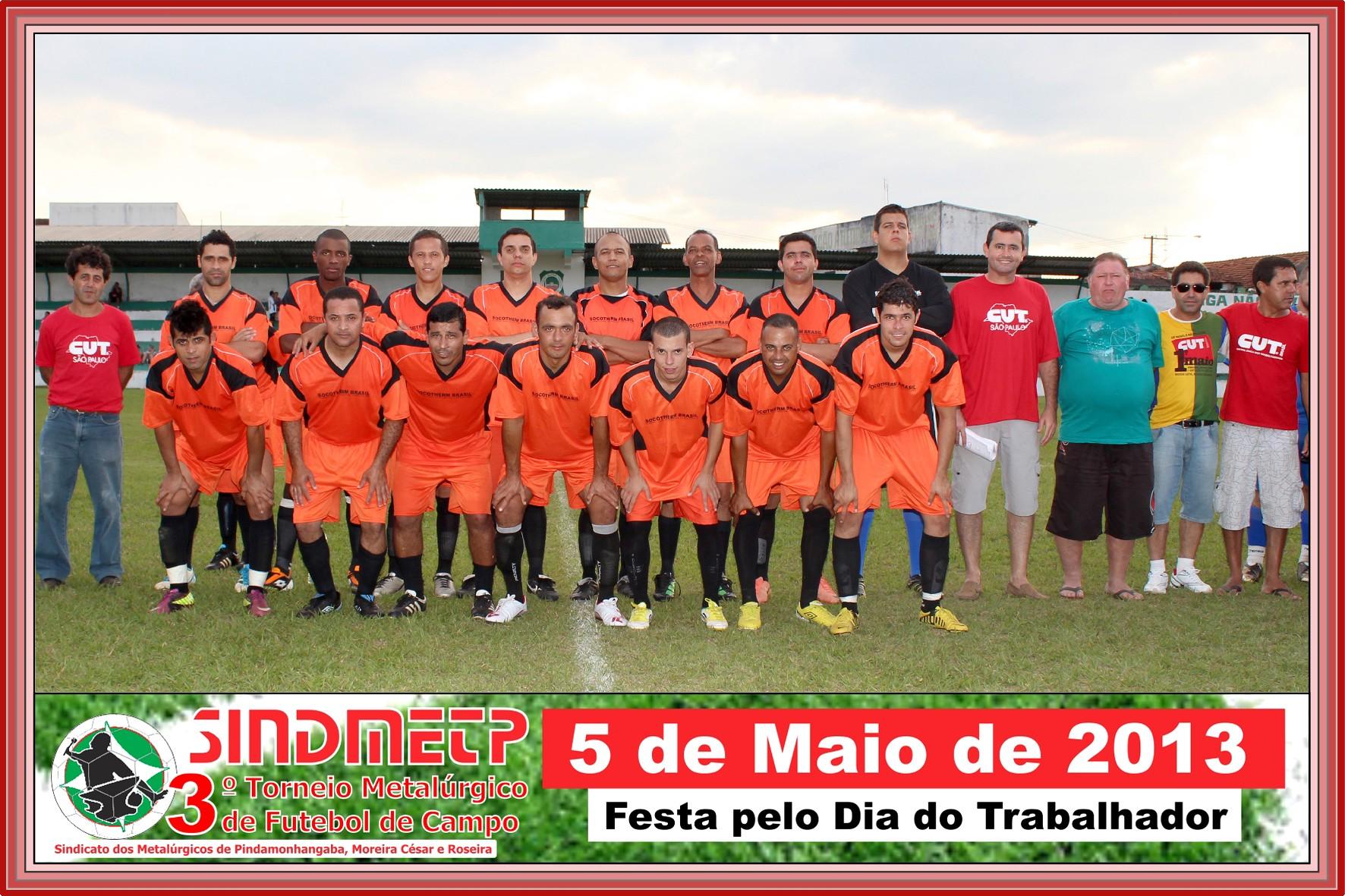 Socotherm - Equipe que jogou a final do torneio