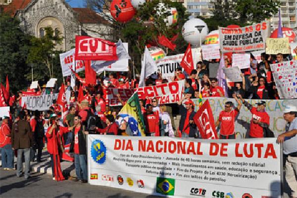 Dia Nacional de Lutas, 11 de julho - Foto: Rúbia Mara/Mídia Consulte
