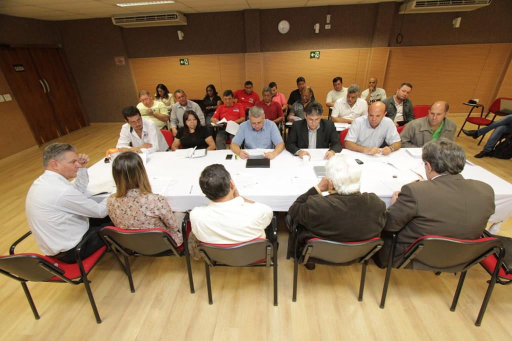 2ª Rodada de negociação - FEM-CUT/SP e G3 - sede da FEM em São Bernardo. Foto: Paulo Souza/SMABC
