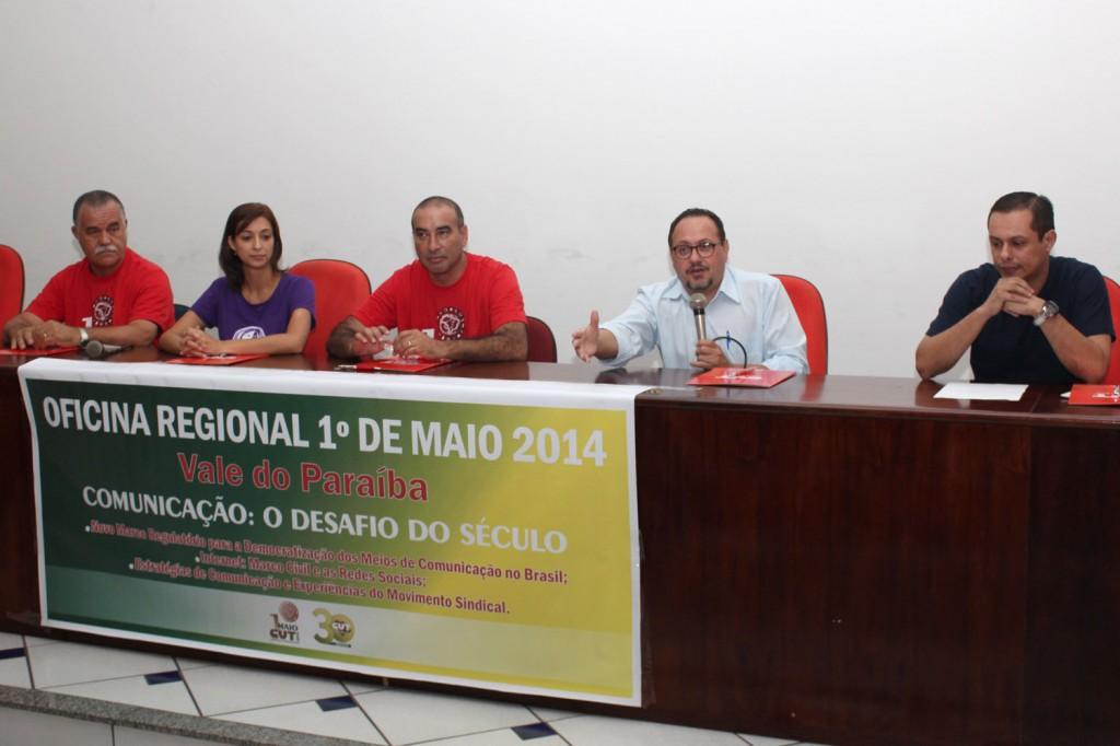 Elias Pereira, Claudia Albertina, Nilson Coutinho, Douglas Izzo e Hernani Lobato