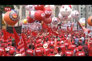 09.04.14 TVT - 8ª Marcha da Classe Trabalhadora