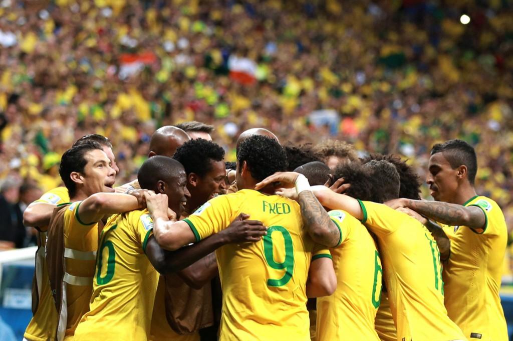Partida Brasil e Camarões no Mané Garrincha (Crédito foto: Danilo Borges-Portal da Copa)