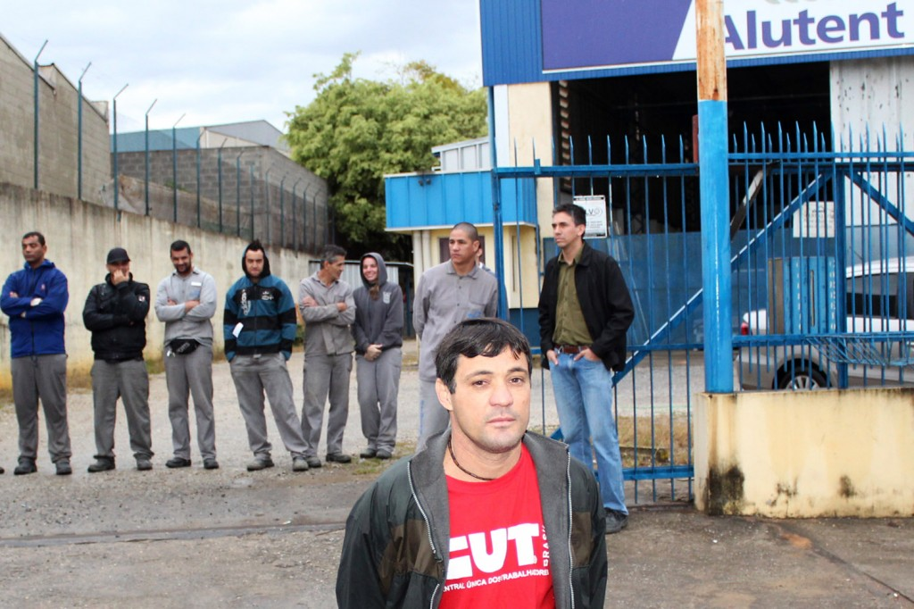 O dirigente sindical na Alutent, Carlos Alberto Barbosa - Betinho