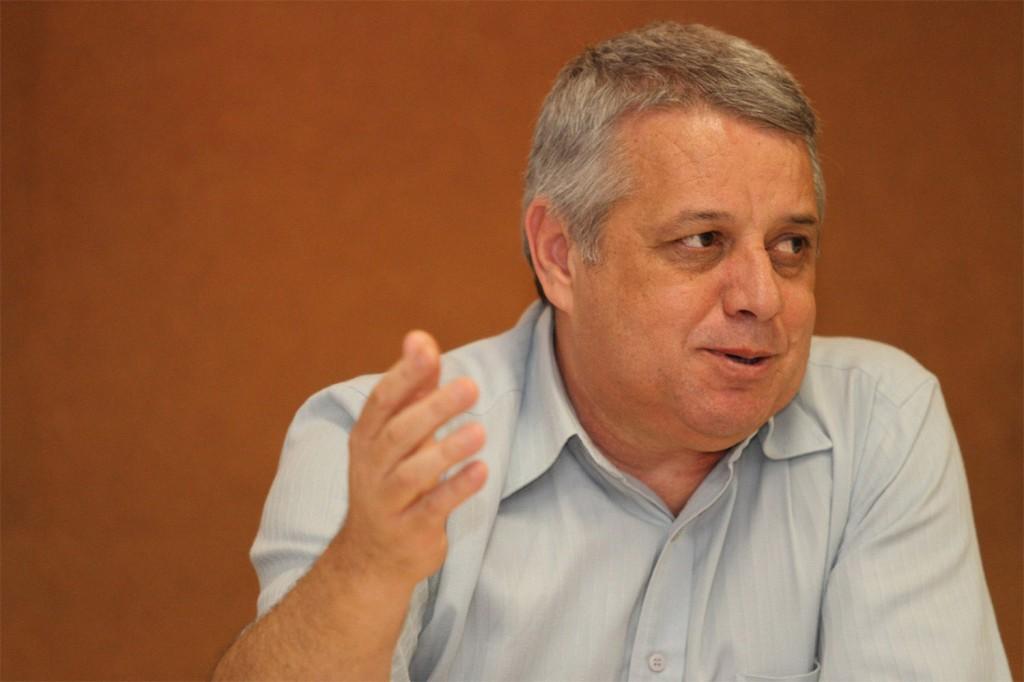 O presidente da FEM-CUT/SP, Biro-Biro (Crédito: Adonis Guerra - SMABC)