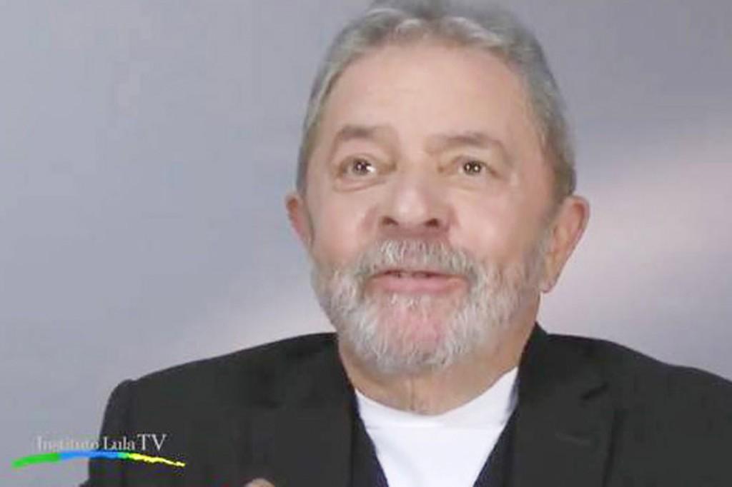 Imagem do vídeo produzido pelo Instituto Lula