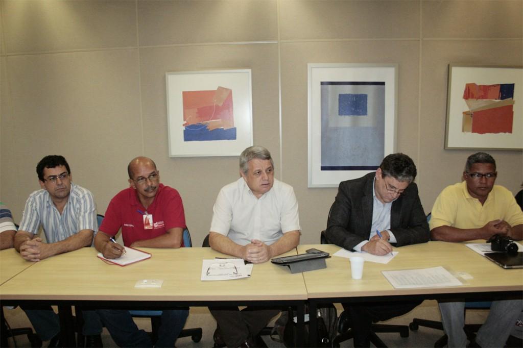 Rodada de negociação FEM-CUTSP e G2 - crédito Mídia Consulte