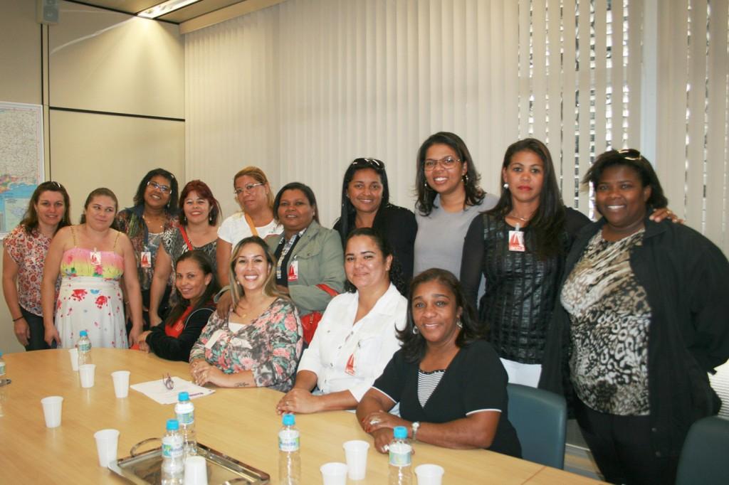 Foto: Reunião do Coletivo de Mulheres da FEM-CUT/SP (crédito: Mídia Consulte)