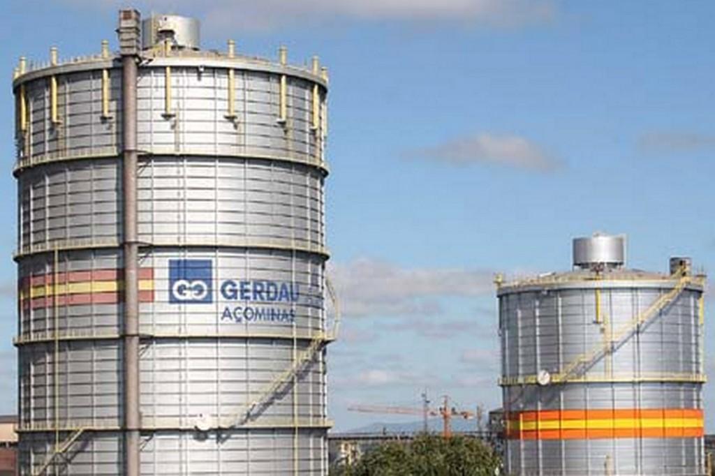 Imagem da Gerdau Açominas, em Ouro Branco-MG (crédito jornal Diário do Comércio)