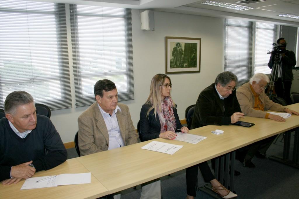 Bancada patronal do G3 - foto: Mídia Consulte