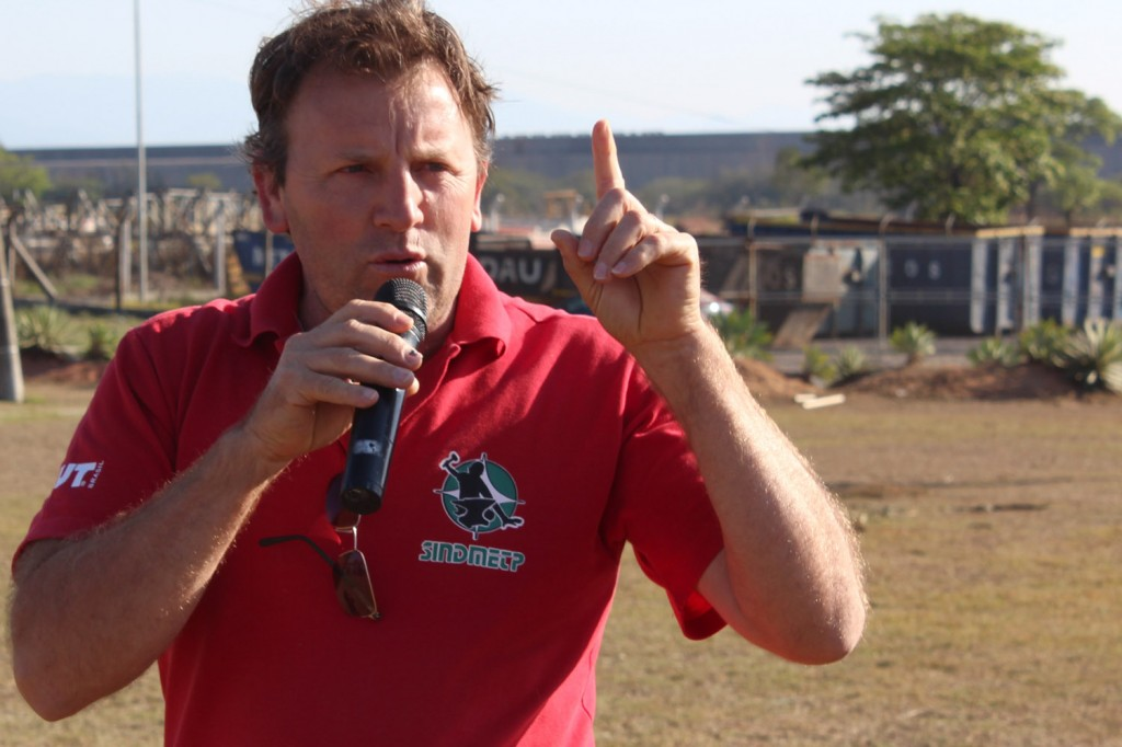 O vice-presidente do sindicato, Romeu Martins
