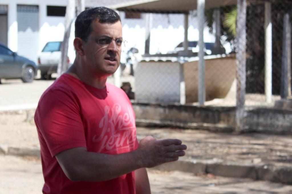 O secretário de Formação do sindicato, Celso Antunes