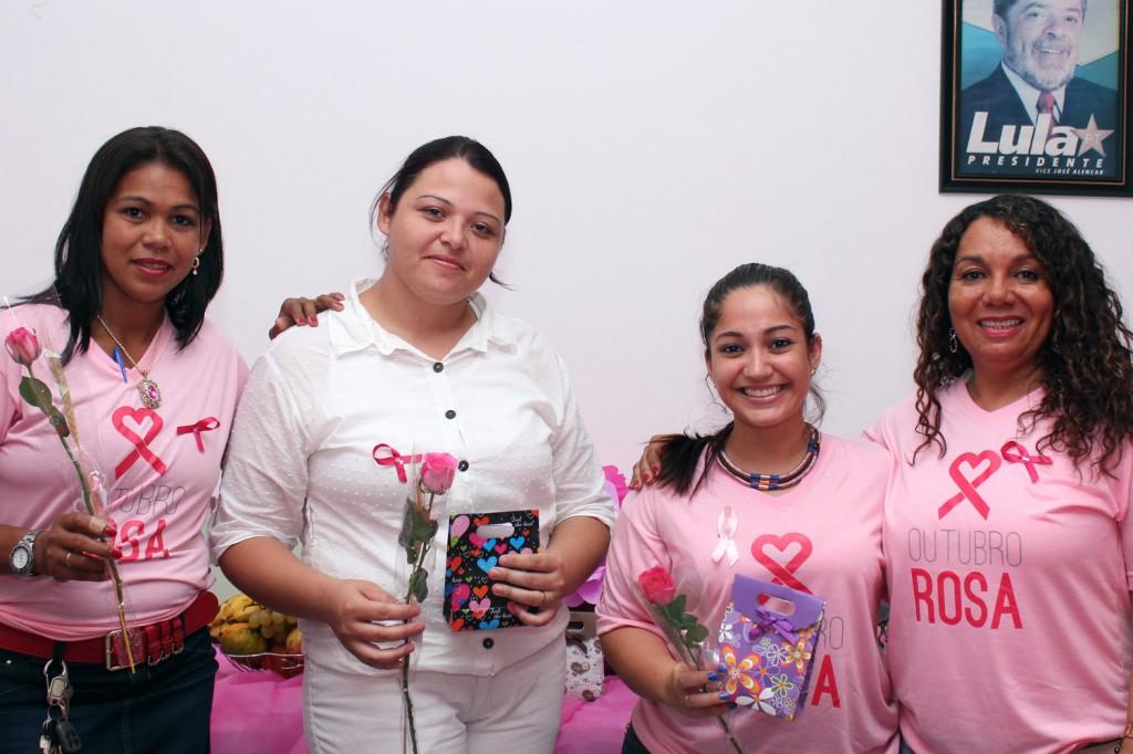 Maria Auxiliadora, a técnica de enfermagem Daniela Freitas, a psicóloga Maria Augusta e a sindicalista Maria Madalena