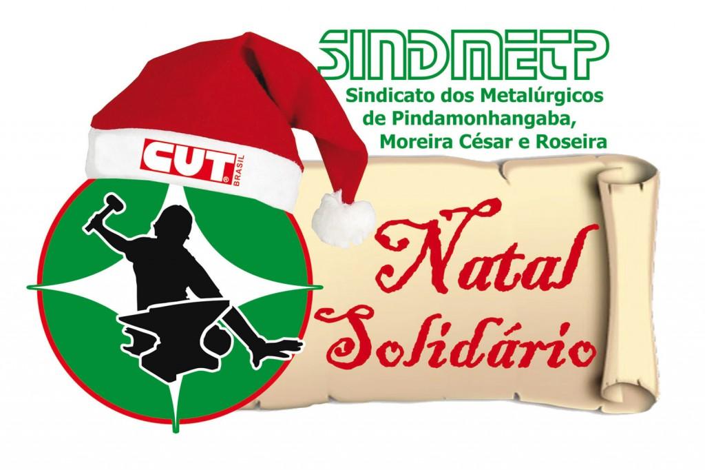 Logo Campanha Natal Solidário 2014