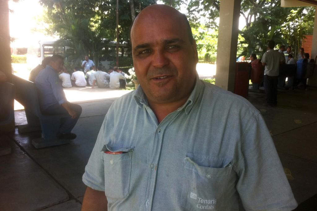 José Carlos Ribeiro - Babão, da Manutenção, o metalúrgico mais votado da Cipa na Confab Tubos, pela 2ª vez (Crédito Divulgação)