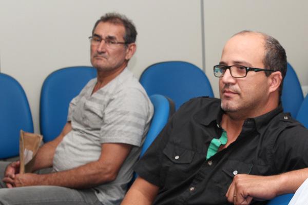 Jaguaribe Avelar e Adilson Velasco: após reunião, a concessão do benefício deles será corrigida