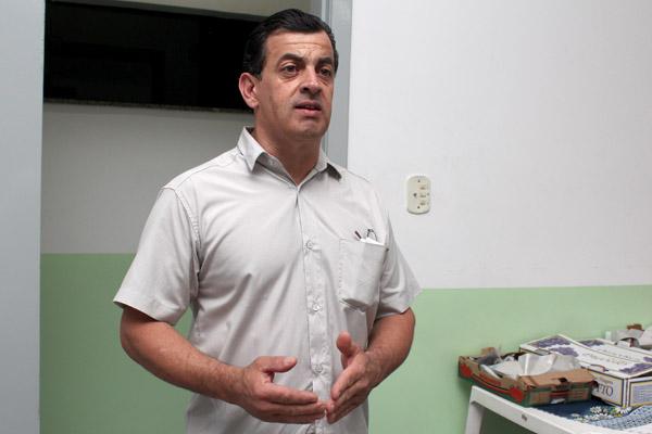 O secretário de Formação, Celso Antunes