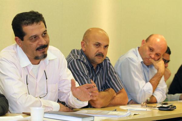 Luizão, Amarildo e Davi - foto: Edu Guimarães /SMABC
