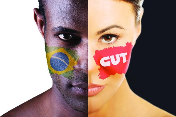 Logo do congresso nacional da CUT, que será realizado em outubro, em São Paulo