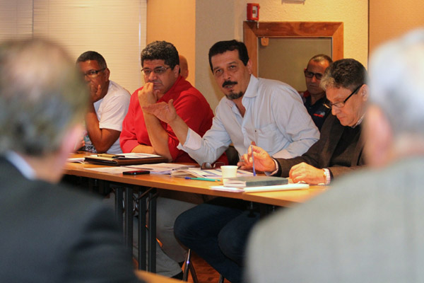 1ªRodada de negociação - FEM e G2 - foto: Edu Guimarães
