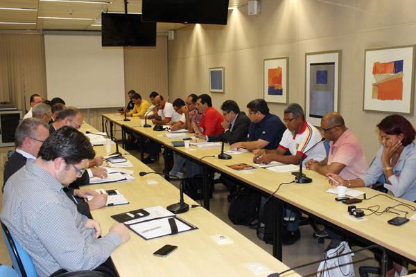 3ª Rodada de Negociação FEM-CUTSP e Grupo 2 (foto Viviane Babosa-Mídia Consulte)