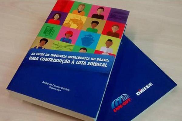 Livro que traça diagnóstico completo da indústria metalúrgica brasileira foi lançado em oficina do 14º CECUT-SP
