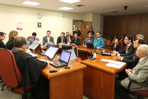 Audiência no TRT (foto divulgação)