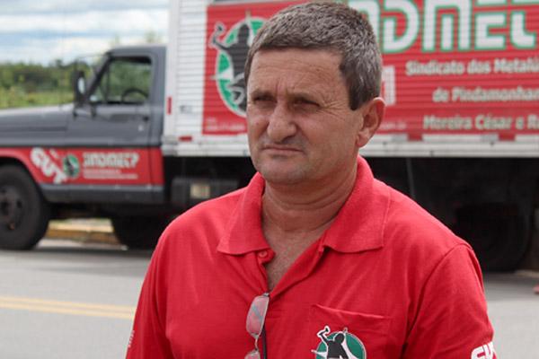 O dirigente sindical na Incomisa, André Dantis