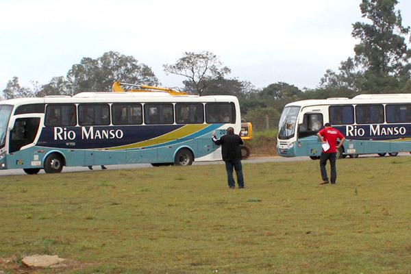 Motoristas da Rio Manso faziam as linhas de transporte da Gerdau (foto Arquivo Sindmetalpinda)