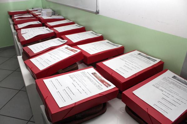21 urnas organizadas para colher votos dos 16 Comitê Sindicais de Empresa