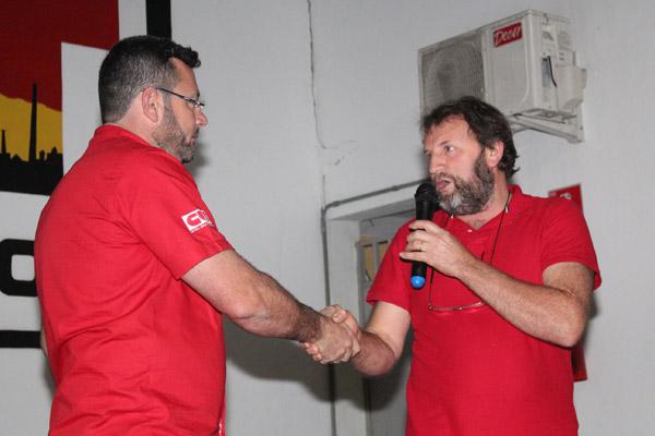 Vela recebeu o comando da entidade das mãos do presidente interino Romeu Martins