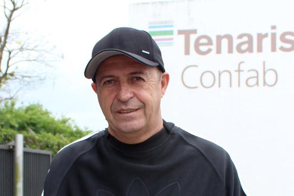 João Batista Escóssia, de 52 anos, do pátio da Confab Tubos