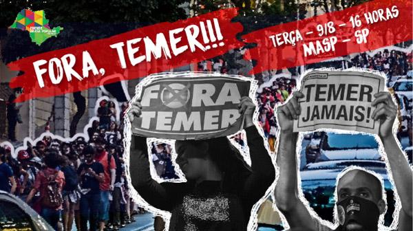 Imagem: Frente Brasil Popular