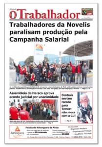 Jornal O Trabalhador.Edição 86.Agosto de 2016.indd