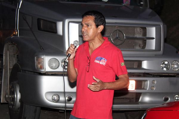 O dirigente sindical na Bundy, Ivanez - Gato