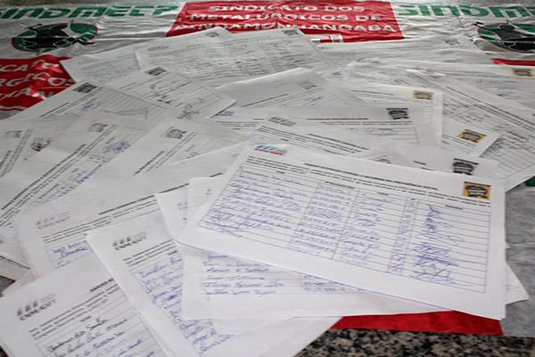 Campanha já colheu 1.450 assinaturas em Pinda, que serão encaminhadas para a CNM/CUT que está organizando campanha nacional