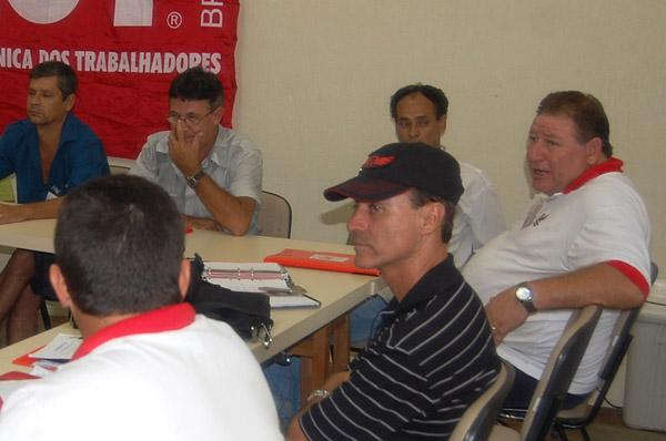 Seminário de Planejamento da nova direção do sindicato após a difícil eleição de 2009 (16.01.10 )