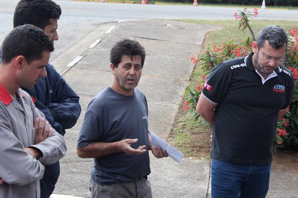 O dirigente sindical Luiz Carlos de Paiva - Paivinha