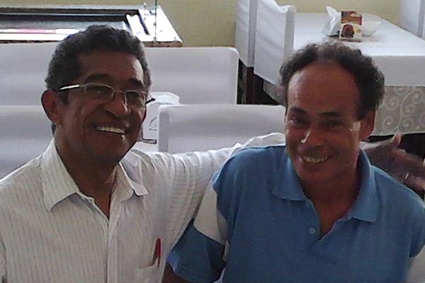 João Gay e o deputado federal Vicentinho (13/05/13)