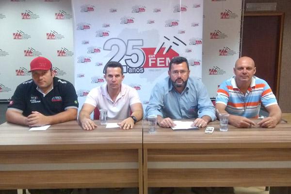 Andrezão, Sérgio, Vela e Pepeo